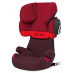 Cybex Solution X2-Fix Gold, Isofix - RUMBA RED / DARK RED - 2015