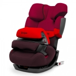 Cybex Pallas-Fix Silver, Isofix - RUMBA RED / DARK RED - 2015