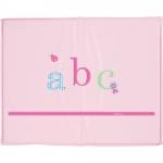 bebe-jou Playpen mattress 100x80cm, Design - 44 ABC HELLROSA - 2015