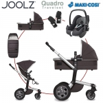 Joolz Day Quadro Travelset mit Maxi Cosi Pebble - CARBON - 2016