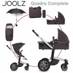 Joolz Day Quadro Komplettset XL - CARBON - 2016