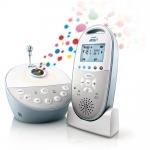Philips Avent Babyphone DECT mit Sternenlichtprojektor SCD580/00