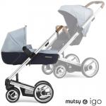 Mutsy IGO Kombikinderwagen - PURE SILVER / PURE BRIGHT SKY - 2015
