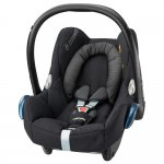 Maxi Cosi Cabriofix, Isofix optional - BLACK RAVEN - 2016