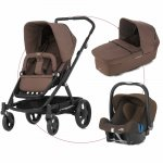 Britax Go Travelset mit Baby-Safe Plus II SHR - WOOD BROWN - 2016