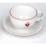 Tasse mit Untere Le coq rouge