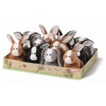 Nici Spring Rabbits 16cm 3 designs in display