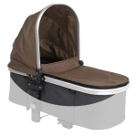 Firstwheels City Twin - Cot fabric BROWN 2009