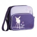 L�ssig 4Kids Mini Squarebag - Deer VIOLA - 2014